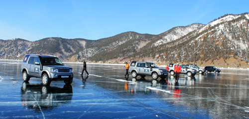 Iced Baikal - Amazing trip by 4x4